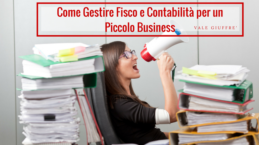 fisco e contabilità  per un piccolo business