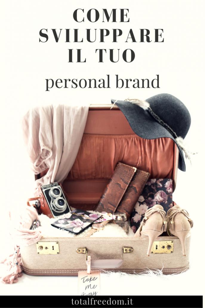 sviluppare il tuo personal brand